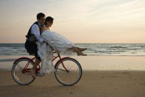 Hochzeit Fahrrad medium